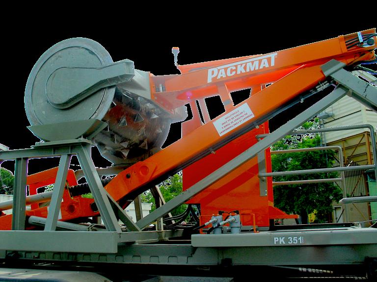 PK351 - Packmat compacteur sur site