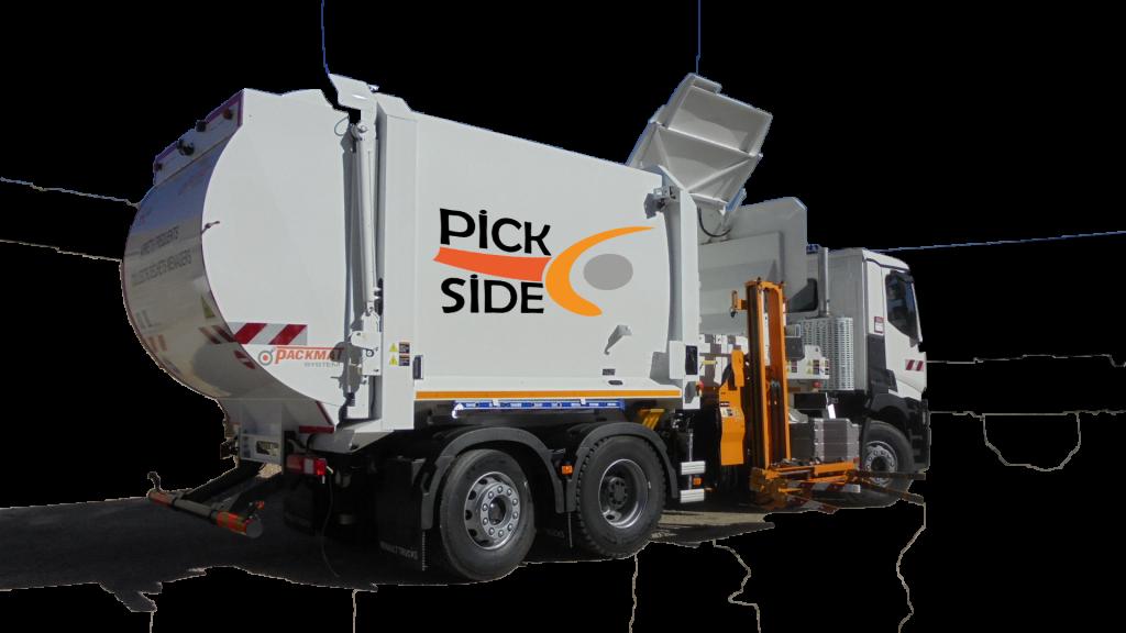 Pickside packmat system benne de collecte