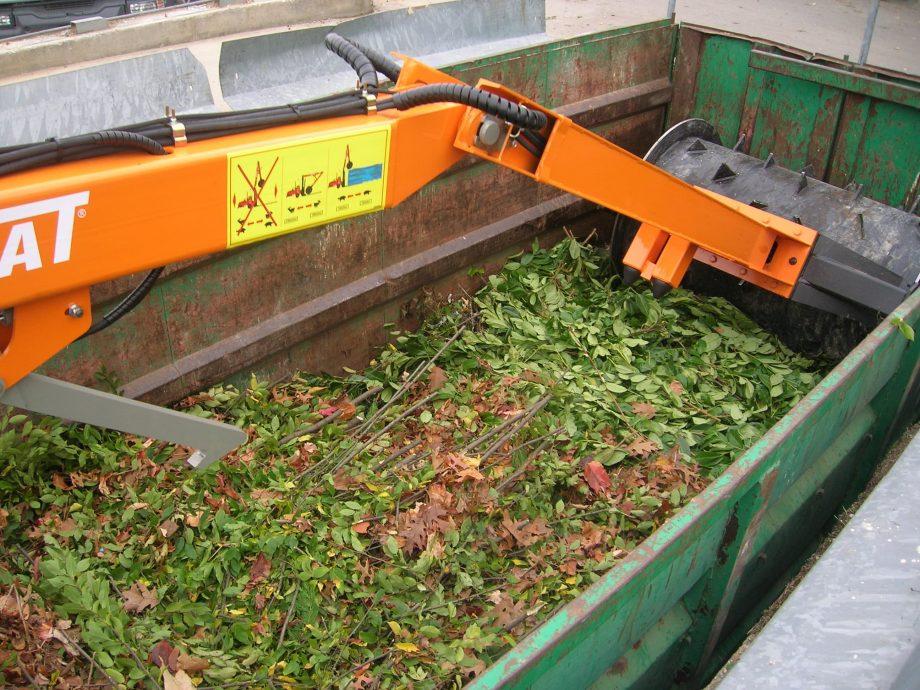 Compacteur packmat déchet vert