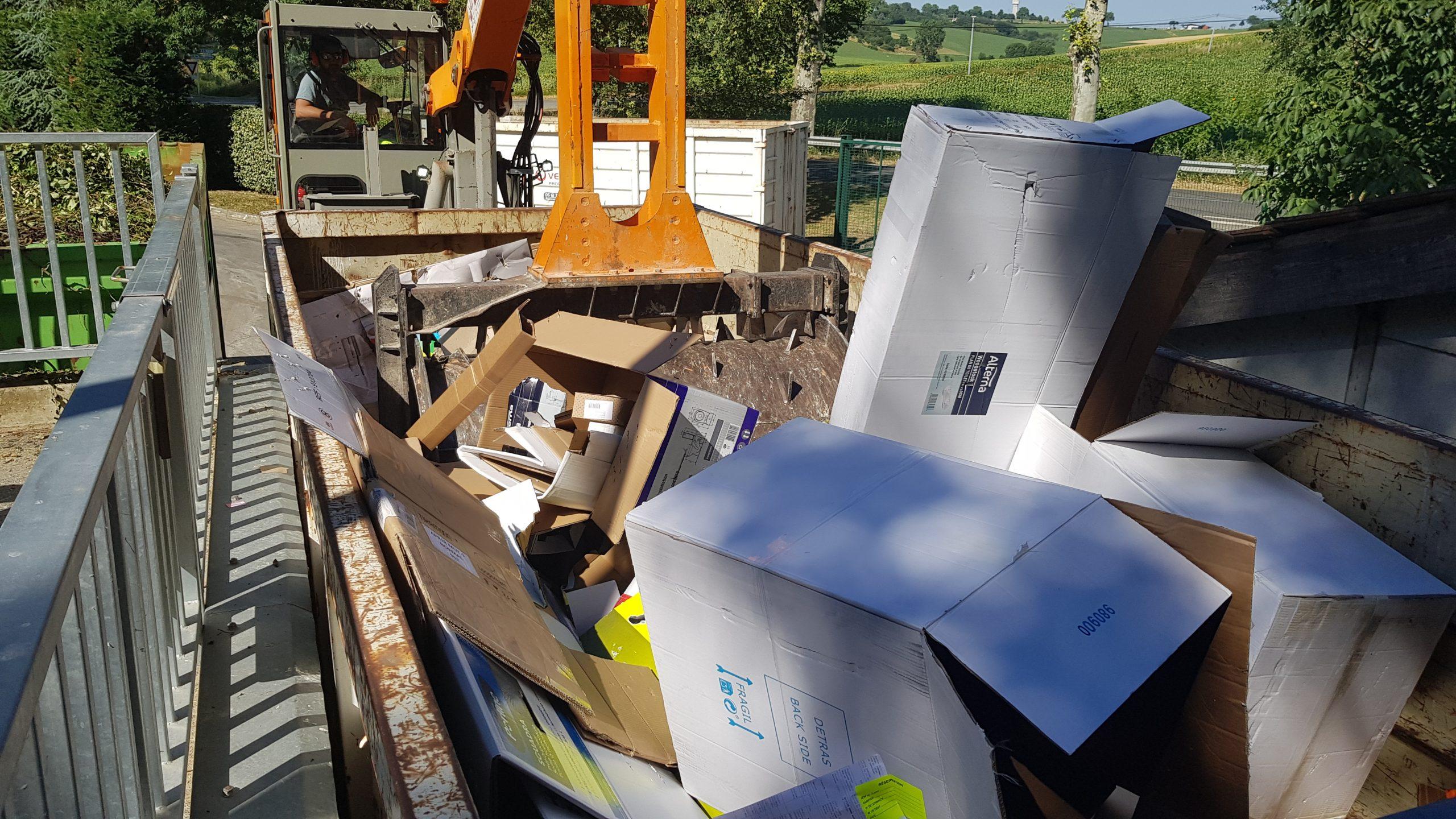 Les avantages des compacteurs packmat system